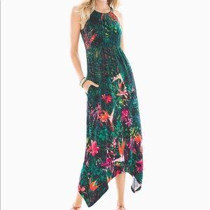 Soma High Neck Jersey Knit Sleeveless Dress NWT